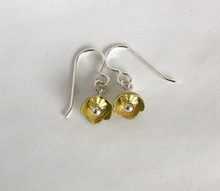 Load image into Gallery viewer, Adele Stewart Maker, Handmade in New Zealand, buy NZ made, Shop local, Buttercup Earrings,