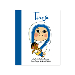 Mother Teresa, Little People Big Dreams, Board Book, Childrens Book, Shop Local,