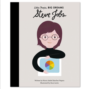 Steve Jobs, Little People Big Dreams, Book, Childrens Book, Shop Local,