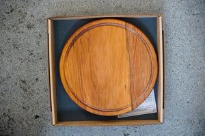 Rimu Round Platter/Cheese Board