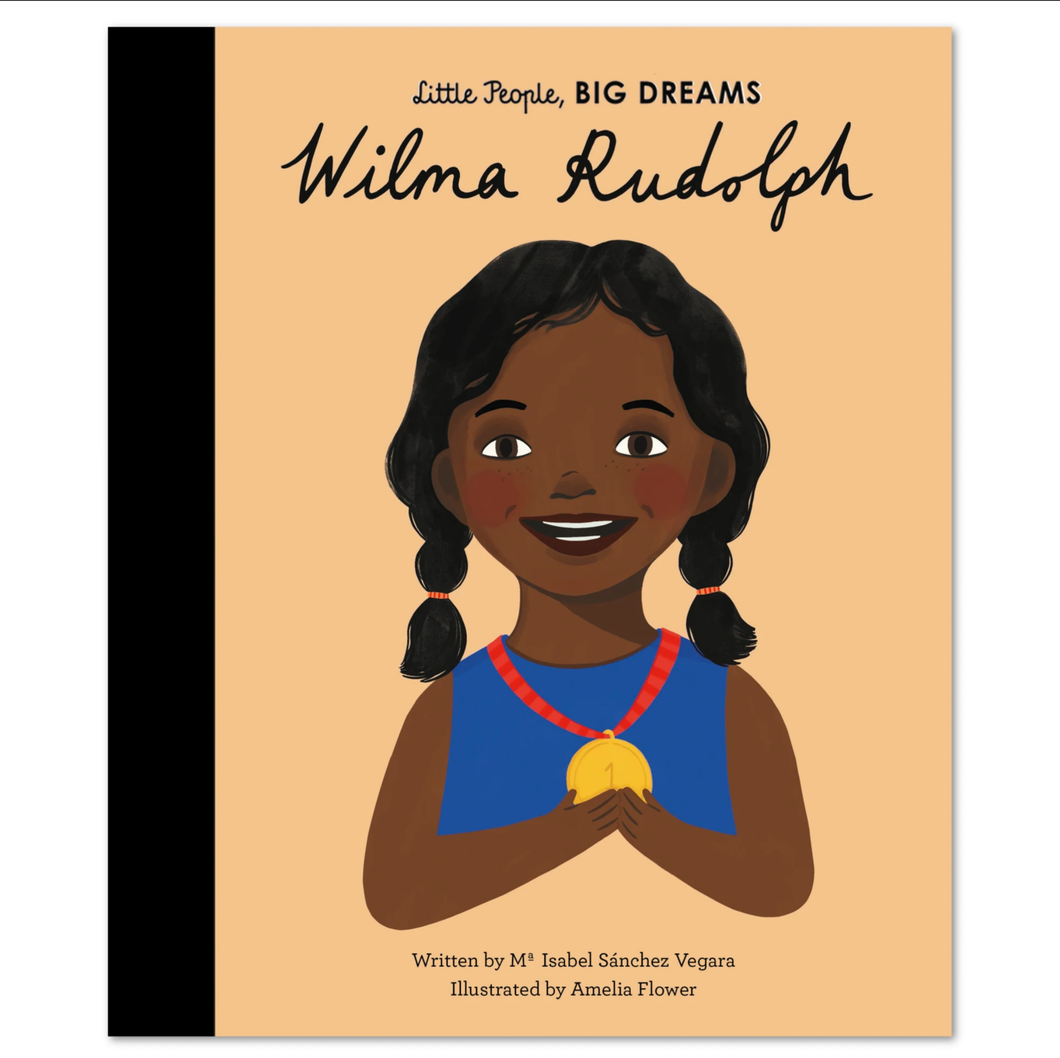 Wilma Rudolph, Little People Big Dreams, Book, Childrens Book, Shop Local,