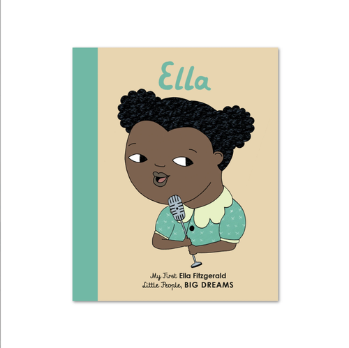 Ella Fitzgerald, Little People Big Dreams, Book, Childrens Book, Shop Local,