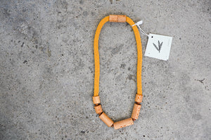 Rewarewa Cylinder Necklace
