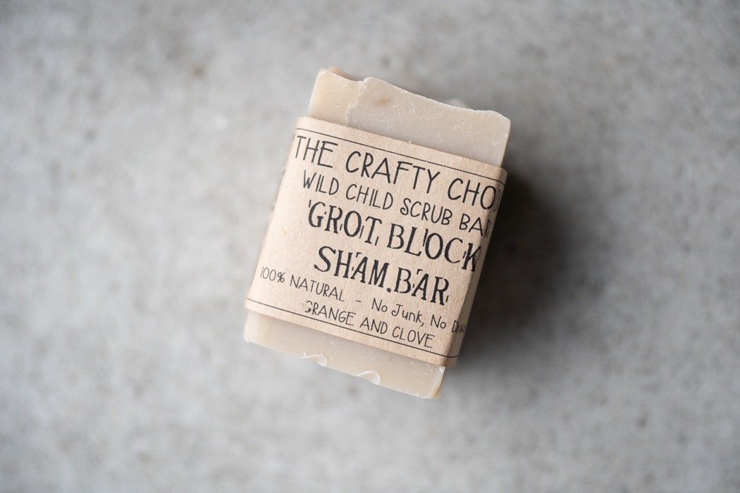 Grot Block Shampoo Bar