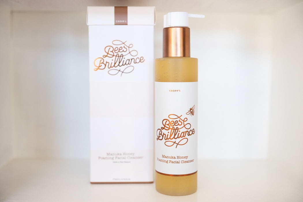 Bees Brilliance, Skincare, Manuka Honey, Cleanser, Facial cleanser, New Zealand made,