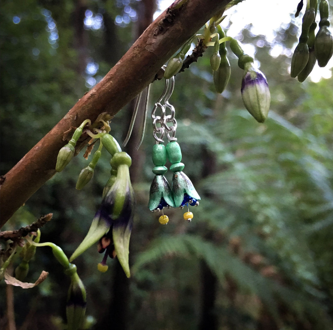 NZ Tree Fuchsia Earrings