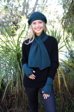 Load image into Gallery viewer, Lightweight beanie in a textured knit with a relaxed crown. Lothlorian. Made in New Zealand. Possum Merino