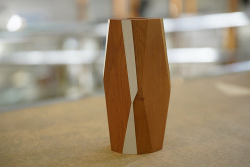 Kauri Vase Multifaceted - Small