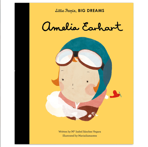 Amelia Earhart, Little People Big Dreams, Book, Childrens Book, Shop Local,