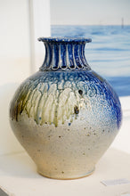 Load image into Gallery viewer, Fluted Top Vase (Large)