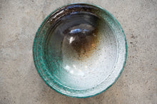 Load image into Gallery viewer, Large Green Pottery Bowl