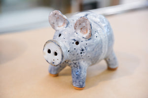 Pottery Pig, Handmade in New ZealandPottery Piggy Bank, Handmade in New Zealand