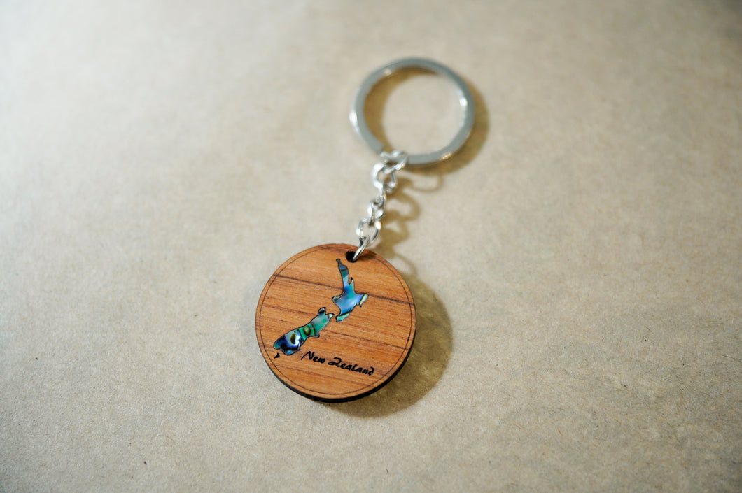 Naturally Wood - Key Ring