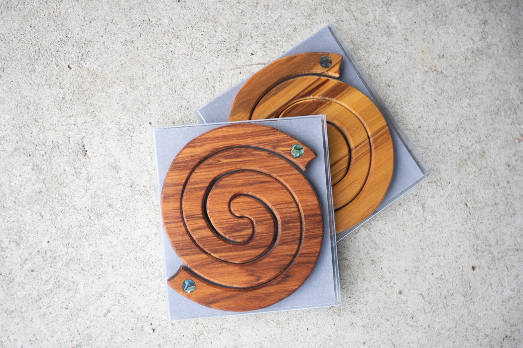 Rimu, Coasters, West Coast NZ, Made in New Zealand, Shop Local, Shop Kiwi, Paua, Handmade