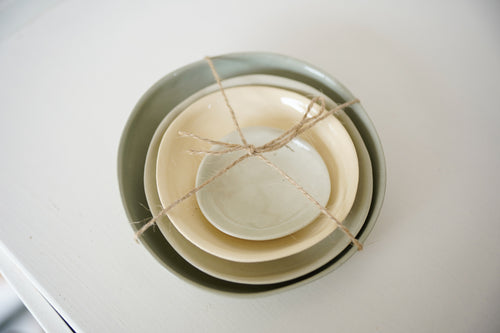 Melanie Drewery, Pottery, Stacking Dishes, Made in NZ, Handmade, Shop Local,