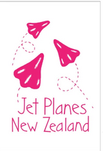Load image into Gallery viewer, Moa Revival, New Zealand made, NZ Tea towels, Jet Planes,