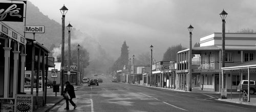 Reefton Streets Early Morning