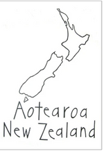 Load image into Gallery viewer, Moa Revival, New Zealand made, NZ Tea towels, NZ Map, Aotearoa