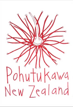 Load image into Gallery viewer, Moa Revival, New Zealand made, NZ Tea towels, Pohutukawa,
