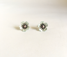 Load image into Gallery viewer, Adele Stewart Maker, Handmade in New Zealand, buy NZ made, Shop local, Cherry Blossom Studs,
