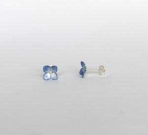 Adele Stewart Maker, Handmade in New Zealand, buy NZ made, Shop local, Hydrangea Studs,