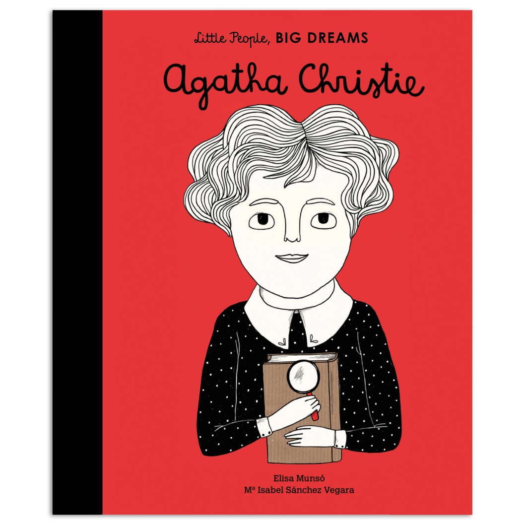 Agatha Christie, Little People Big Dreams, Book, Childrens Book, Shop Local,