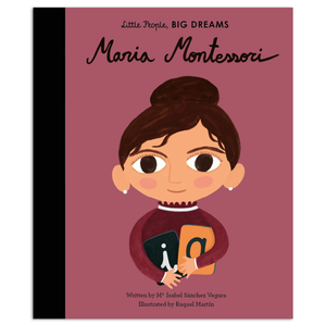 Maria Montessori, Little People Big Dreams, Book, Childrens Book, Shop Local,
