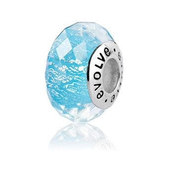 NZ Glaciers (faceted) Charm