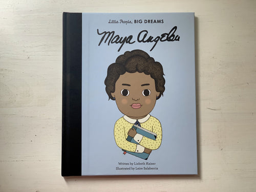 Little People Big Dreams, Shop Local, Maya Angelou,
