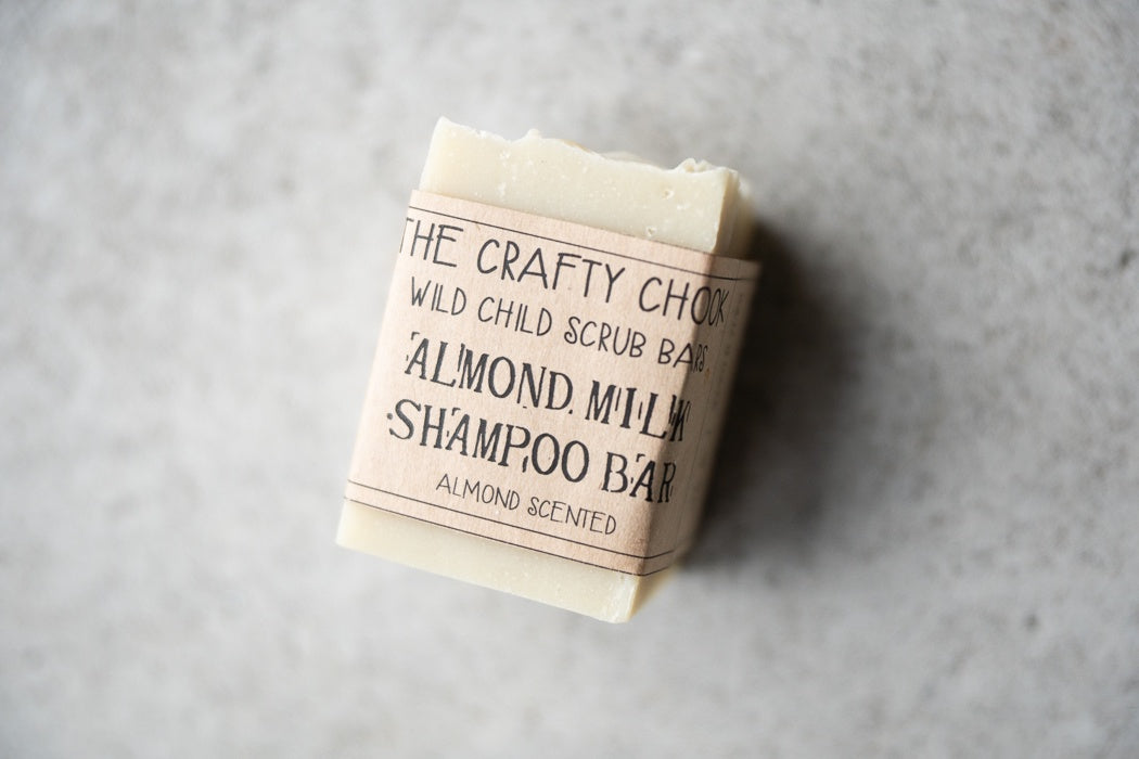 Almond Milk Shampoo Bar