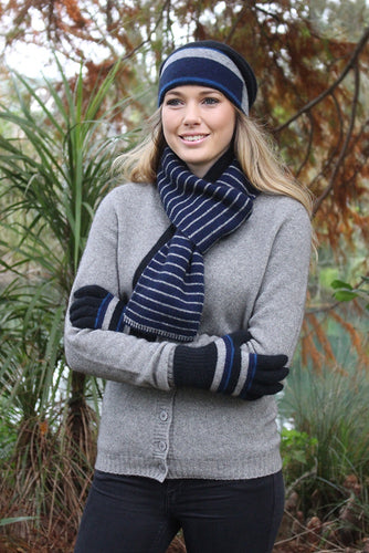 Accent Stripe Scarf