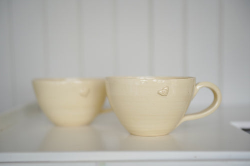 Melanie Drewery, Pottery, Ceramics, Latte Cup, Mug, , Made in New Zealand, Handmade