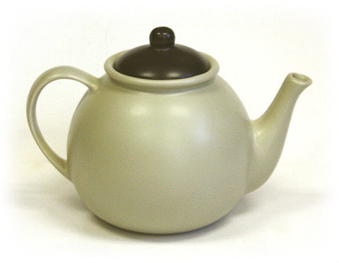 Hues & Brews Beige 50 Oz. Teapot 1