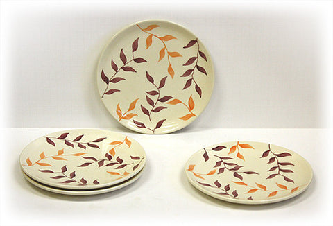 4 Piece Simplicity Dessert & Snack Plates by Hues & Brews