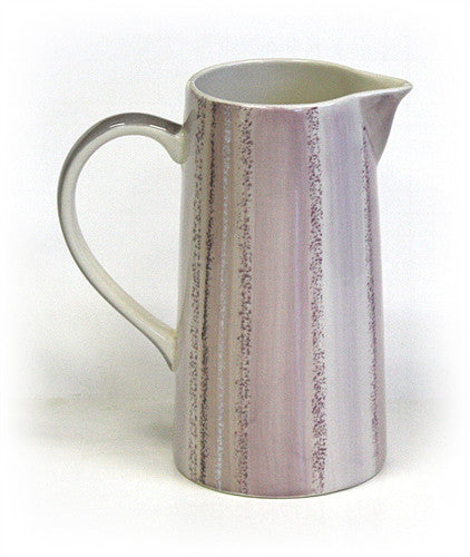 46 Oz. Rose Quartz Style Ceramic Pitcher by Hues & Brews