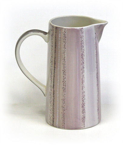 Rose Quartz Style Ceramic Pitcher