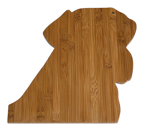 APetProject Bamboo Labrador Cutting Board