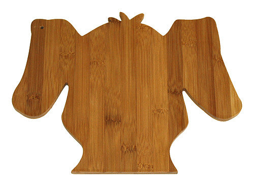 APetProject Bamboo Scruffy Dog Cutting Board