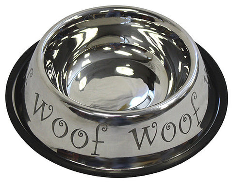 APetProject 24 oz. Stainless Steel Anti-Skid Dog Bowl