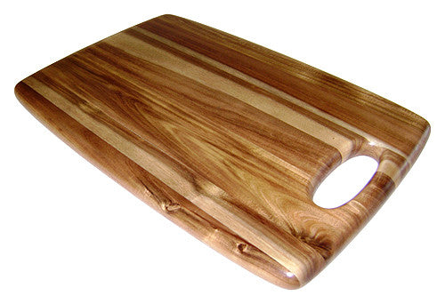 "Mountain Woods 18"" X 12"" Bahama Acacia Hardwood Cutting & Serving Board"