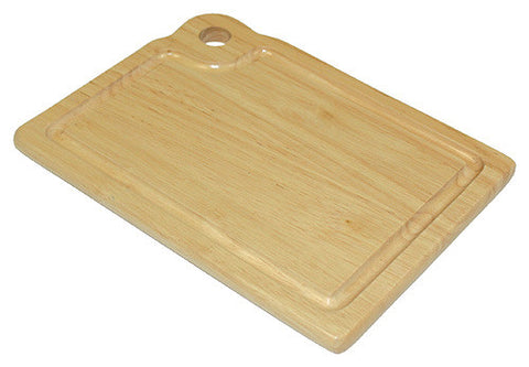 "Mountain Woods 8"" X 6"" Hardwood Bar Cutting Board w/ Juice Groove"