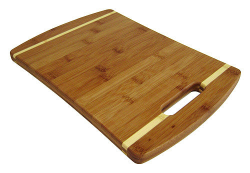 Simply Bamboo 14 X 10 Malibu Bamboo Cutting Board