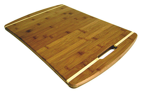 Simply Bamboo Brown Malibu Bamboo Cutting Board 1