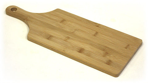 Simply Bamboo Brown Napa Paddle Bamboo Cutting Board 1