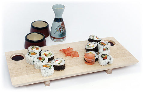 Mountain Woods Double Sushi Board