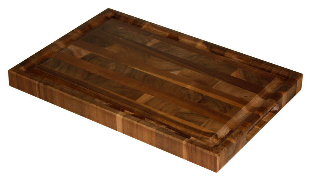 Mountain Woods 16 X 11 Professional Acacia End Grain Cutting Board w/ Juice Groove