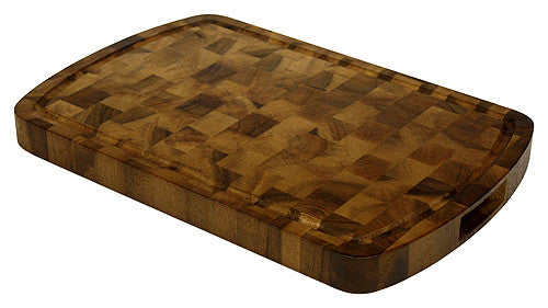 Mountain Woods 18 X 12 Acacia End Grain Cutting Board
