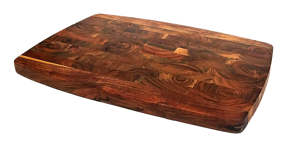 "Mountain Woods 13"" Acacia End Grain Cutting Board"