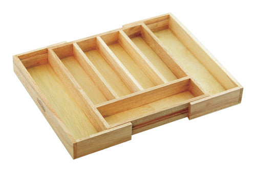 Mountain Woods Natural Expandable Silverware Tray