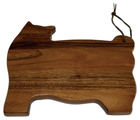 Mountain Woods Acacia Cat Board, 10.2 X 8.8 X 0.5